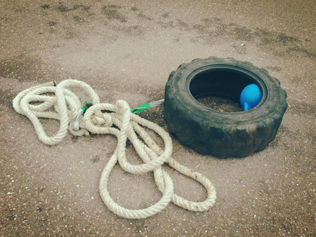 tyre-pull