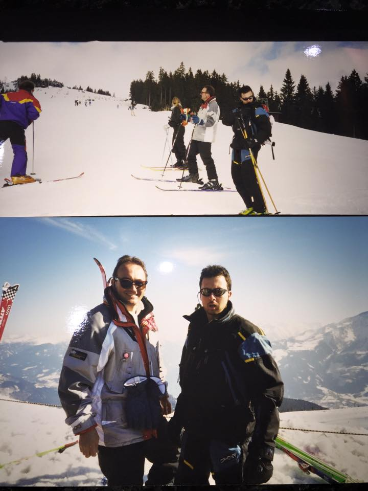howard and jayce ski